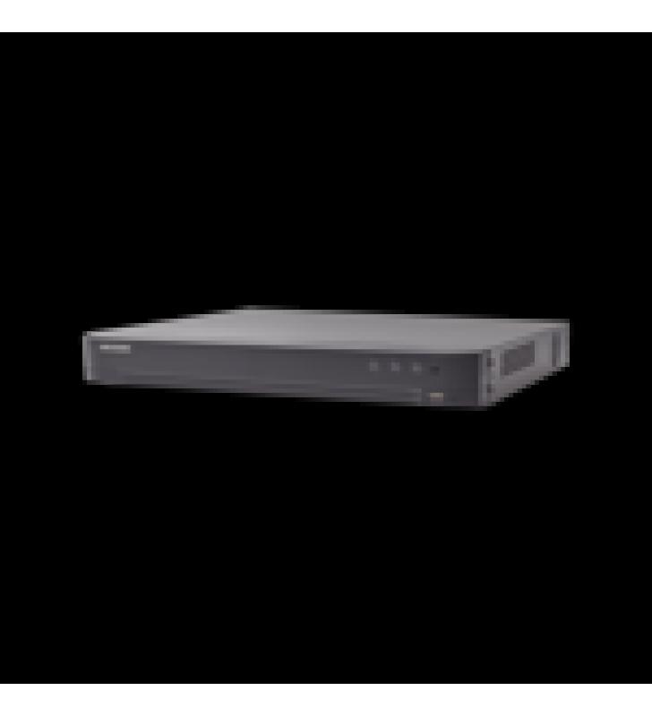 (RECONOCIMIENTO DE ROSTROS) DVR 4 MEGAPIXEL / 8 CANALES TURBOHD + 4 CANALES IP / 1 BAHIA DE DISCO DURO / 1 CANAL DE AUDIO / AUDIO POR COAXITRON