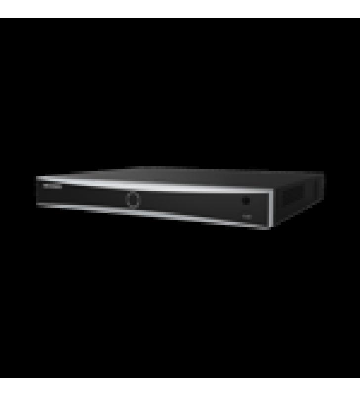 NVR 12 MEGAPIXEL (4K) / RECONOCIMIENTO FACIAL / 8 CANALES IP / BASE DE DATOS / HASTA 100,000 FOTOGRAFIAS / 8 PUERTOS POE+ / 2 BAHIAS DE DISCO DURO / SWITCH POE 300 MTS / BASES DE DATOS / HDMI EN 4K