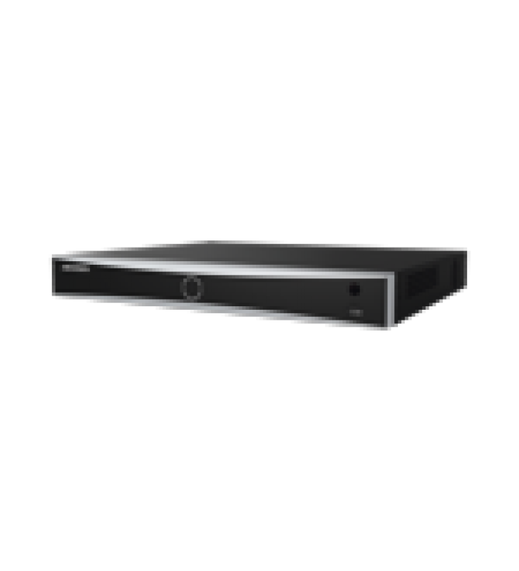 NVR 12 MEGAPIXEL (4K) / RECONOCIMIENTO FACIAL / 16 CANALES IP / BASE DE DATOS / HASTA 100,000 FOTOGRAFIAS / 16 PUERTOS POE+ / 2 BAHIAS DE DISCO DURO / SWITCH POE 300 MTS / BASES DE DATOS / HDMI EN 4K