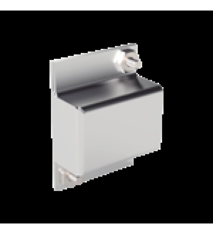 MONTAJE DE TAMPER PARA GABINETE IMP-30-V2. COMPATIBLE CON SFTAMP01,  SS072 O SS073.