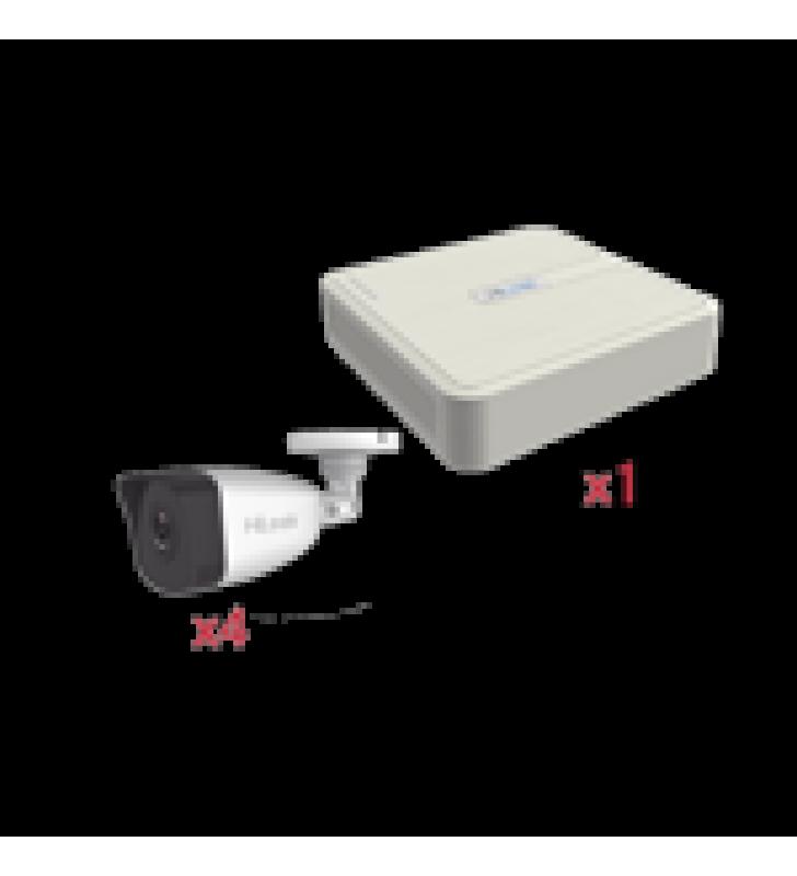 KIT IP 1080P / NVR DE 4 CANALES / 4 CAMARAS IP BALA