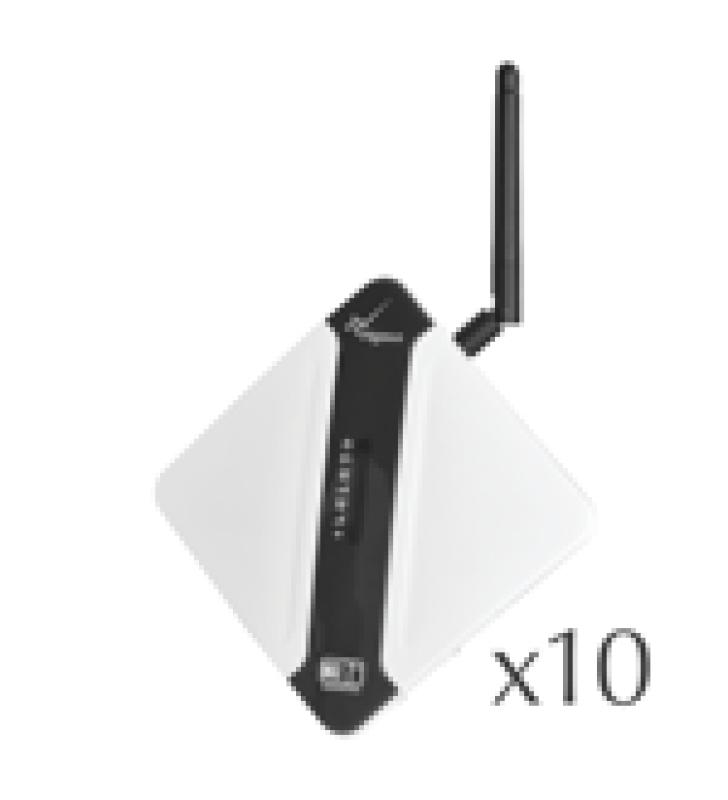 KIT DE 10 COMUNICADORES 3G/4G, ETHERNET Y WIFI / COMPATIBLE CON TODAS LAS MARCAS / SIN COSTO MENSUAL