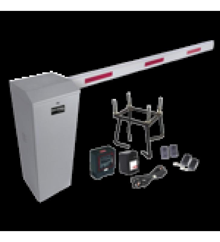 KIT COMPLETO BARRERA DERECHA XB / BRAZO TELESCOPICO 3.6 ~ 5.5 M / INCLUYE SENSOR DE MASA, TRANSFORMADOR, LAZO, ANCLA, FOTOCELDAS Y 2 CONTROLES INALAMBRICOS