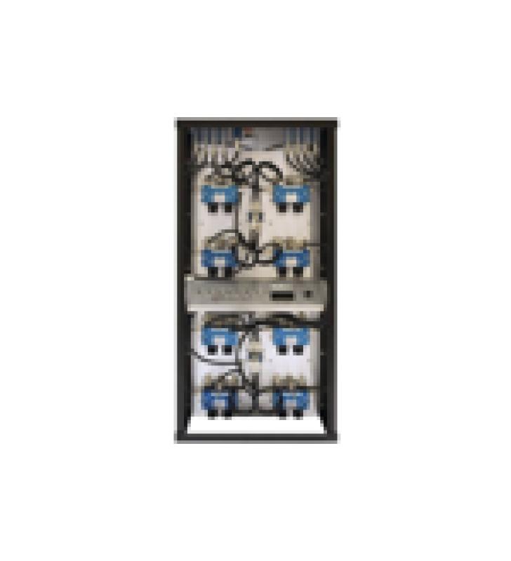 COMBINADOR EN RACK 24, 400-512 MHZ, 3 CAN.(10DIA.) 250 KHZ TX-TX, MONITOR/POT. 150 WATT, N HEMBRAS.