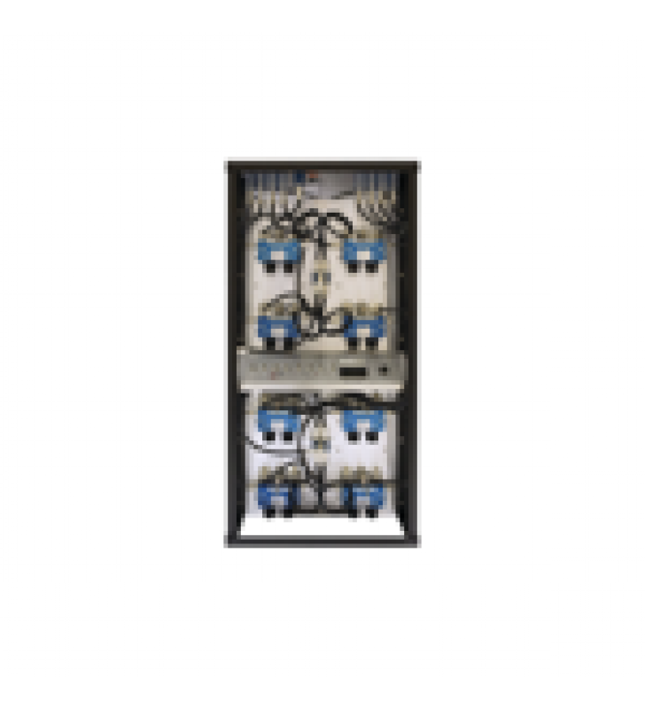 COMBINADOR EN RACK 24, 400-512 MHZ, 4 CAN.(10DIA.) 250 KHZ TX-TX, MONITOR/POT. 150 WATT, N HEMBRAS.