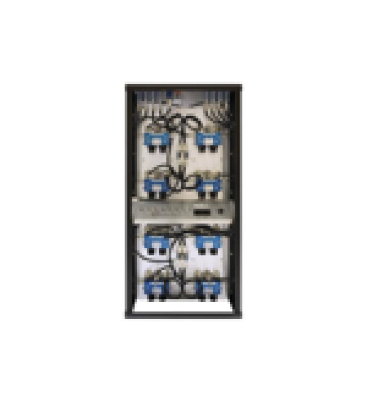 COMBINADOR EN RACK 24, 400-512 MHZ, 8CAN.(10DIA.) 250 KHZ TX-TX, MONITOR/POT. 150 WATT, N HEMBRAS.