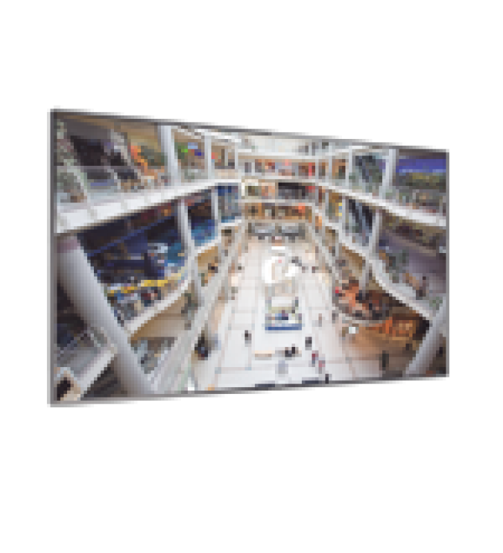 PANTALLA PROFESIONAL LCD DE 55 PARA VIDEO WALL, FULL HD (1080P), BISEL DELGADO DE 3.5MM, BRILLO 500 CD