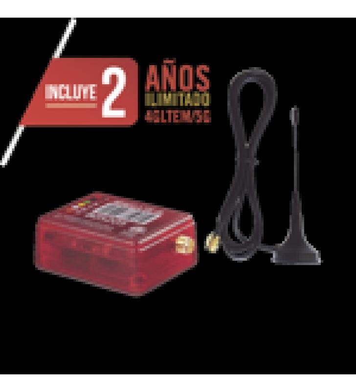 COMUNICADOR LTE 5G DUAL SIM / INCLUYE 2 ANOS 4G/5G SIN LIMITES / UNICO PROGRAMACION REMOTA DSC/HONEYWELL / CERO CONFIGURACION / COMPATIBLE HONEYWELL/DSC/CROW/PIMA