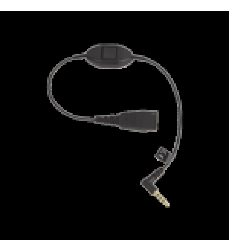 JABRA CORD QD A CONECTOR DE 3.5 MM CON PUSH-TO-TALK PARA TELEFONOS CELULARES SMARTPHONES (8800-00-103)