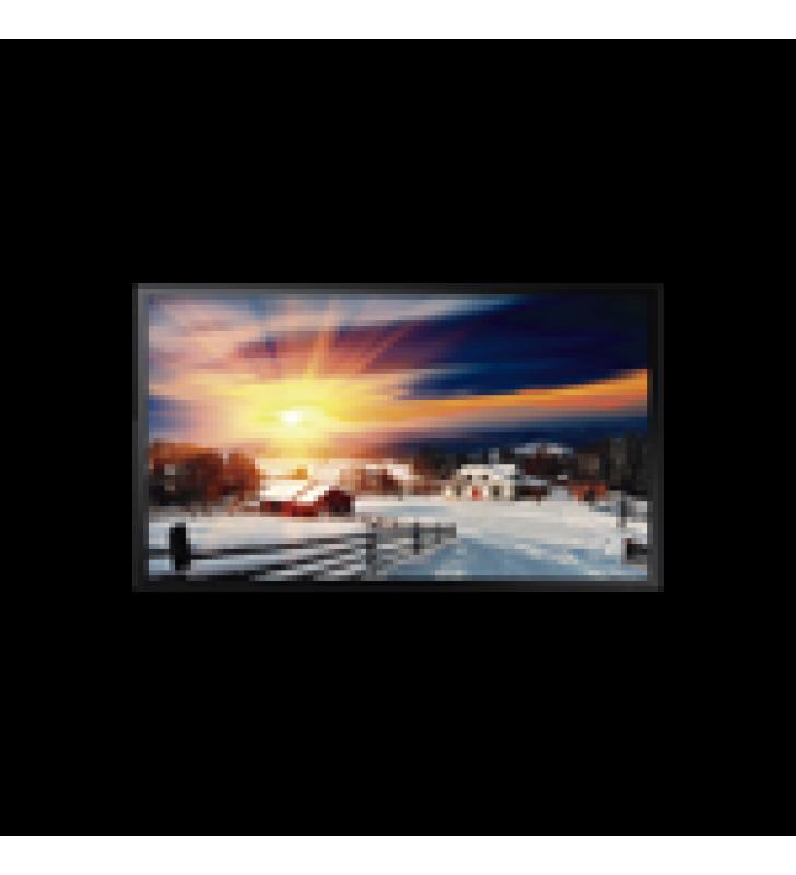 PANTALLA PROFESIONAL LED 55 PARA EXTERIOR CON VIDRIO TEMPLADO DE PROTECCION 5T, FULL HD (1080P), HDMI/HDBASET (LAN), BRILLO 2500 CD/M2. COMPATIBLE VESA
