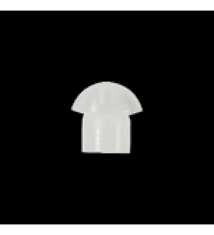 TAPON D/PLASTICO TRANSP.P/MICROFONO (100 PZAS)