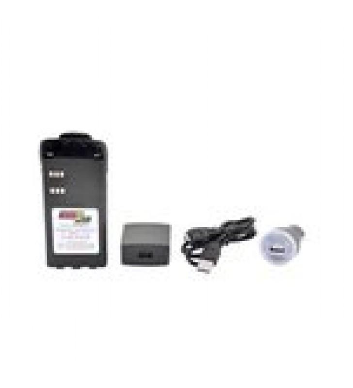 BATERIA CON CARGADOR USB INTEGRADO DE LI-ION 2000MAH  CON CLIP  PARA RADIOS MOTOROLA HT750/1250, PRO5150/5550/7150/7350/7550