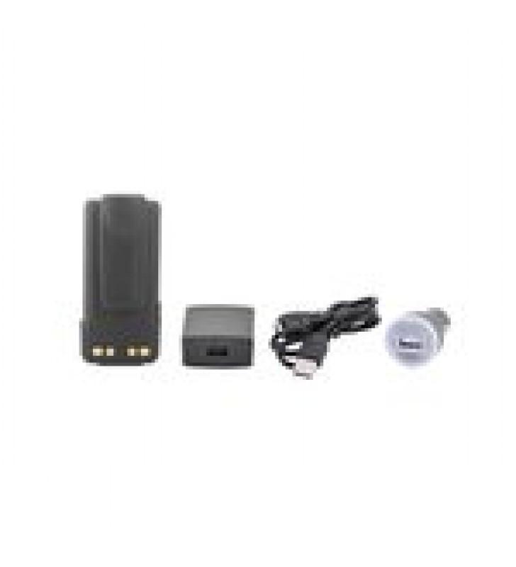 BATERIA CON CARGADOR USB INTEGRADO DE LI-ION 2600MAH  CON CLIP  PARA RADIOS MOTOROLA XPR3300/3500