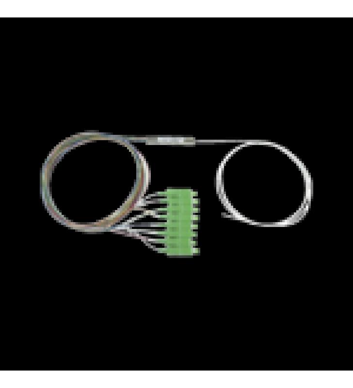 SPLITTER (DIVISOR OPTICO) TIPO PLC, DE 1X8, CONECTORES SC/APC DE SALIDA