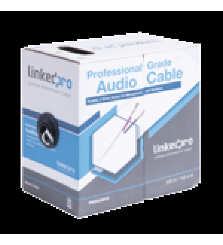 CABLE PARA AUDIO PROFESIONAL DE 2 CONDUCTORES CALIBRE 18 PARA APLICACIONES DE AUDIO Y AUTOMATIZACION BOBINA DE 152 M