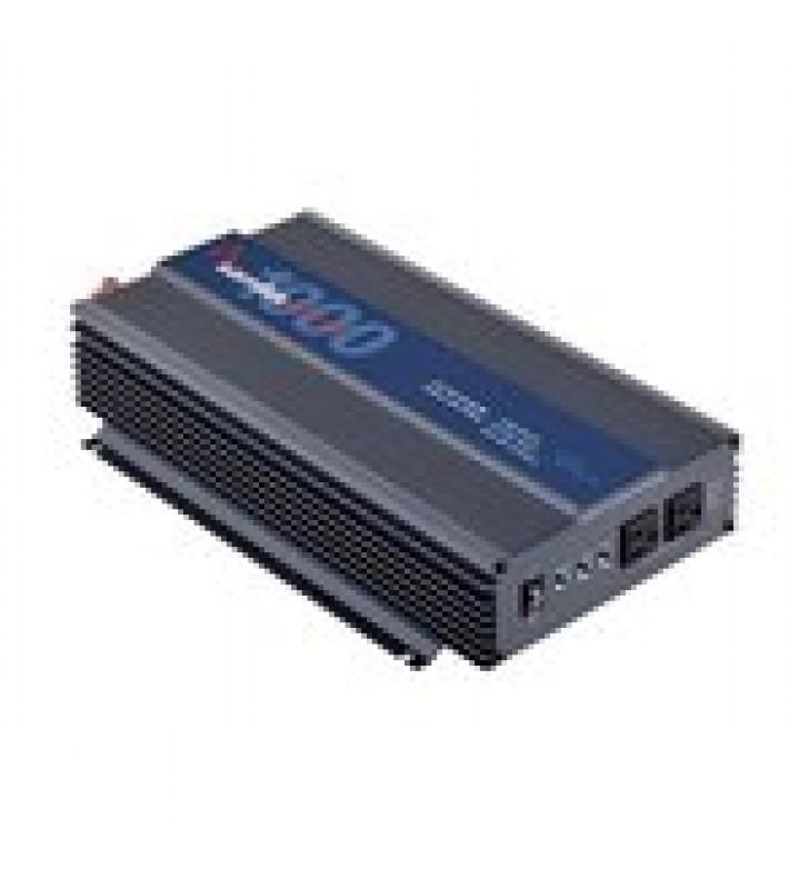 (TRABAJO 24/7) INVERSOR DE CORRIENTE PURA 1000 W / 12 VCD / SALIDA 120VCA / HEAVY DUTY