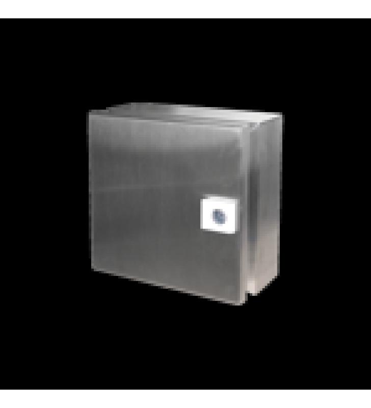 GABINETE DE ACERO INOXIDABLE IP66 USO EN INTEMPERIE (400 X 600 X 120 MM).  IDEAL PARA ZONAS COSTERAS O EXTREMA HUMEDAD.