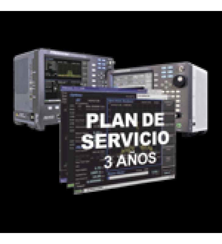 OPCION PLAN DE SERVICIO PARA 3 ANOS EN ANALIZADORES R8000 /R8100.