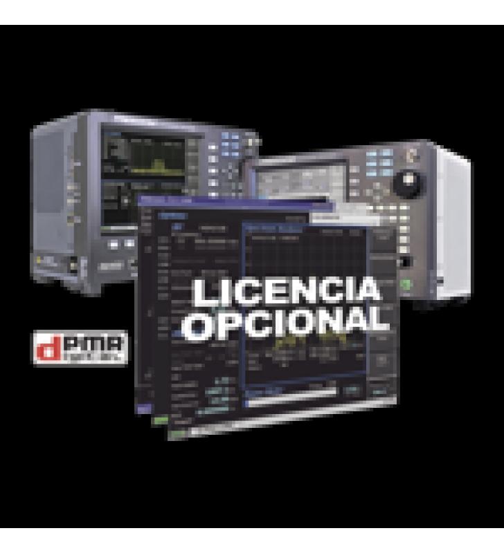 OPCION DE SOFTWARE PARA PRUEBA DPMR (RADIO MOVIL PRIVADO DIGITAL) EN R8000 / R8100.