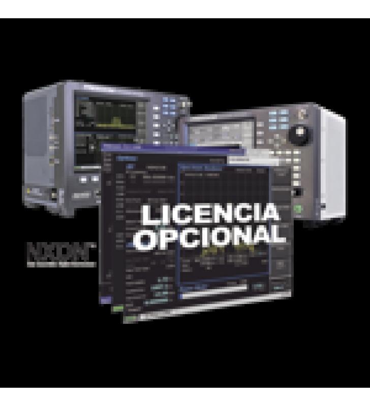 OPCION DE SOFTWARE PARA PRUEBA DE SISTEMAS CON PROTOCOLO NXDN EN R8000 /R8100.