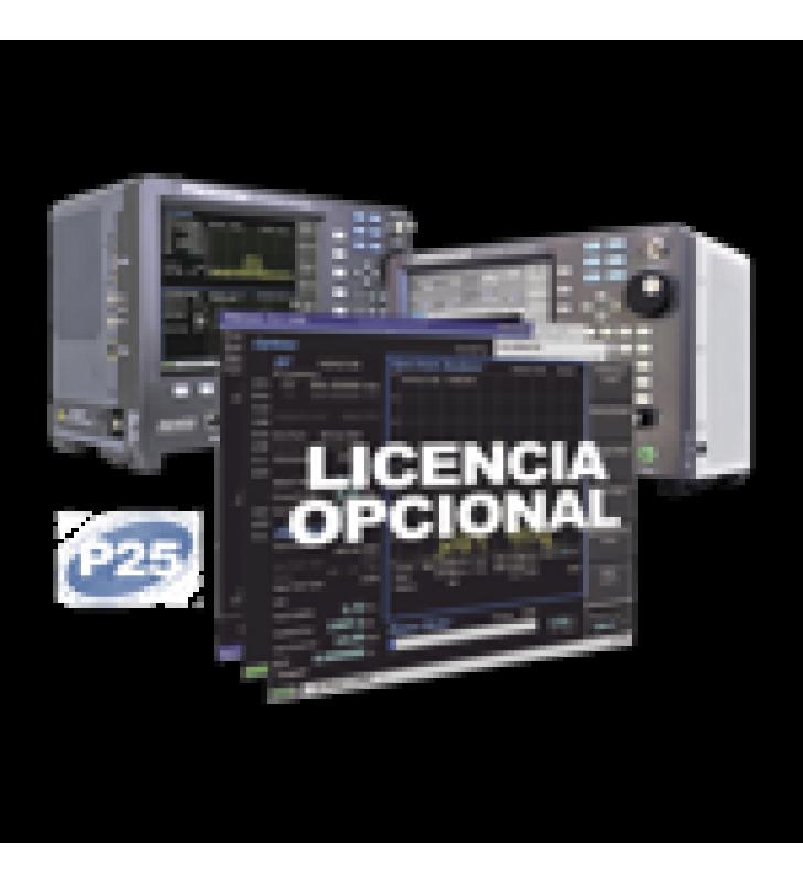 OPCION DE SOFTWARE PARA PROYECTO APCO 25 TRONCAL FASE 1 EN R8000 /R8100 (REQUIERE R8-P25).