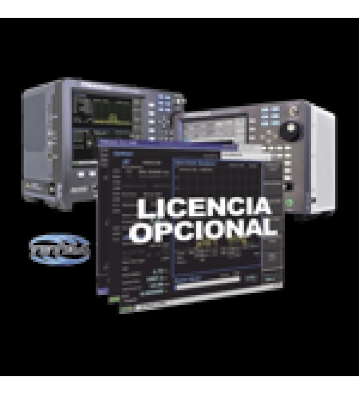 OPCION DE SOFTWARE PARA PRUEBA DE SUBSCRIPTOR TETRA DMO EN R8000 / R8100.