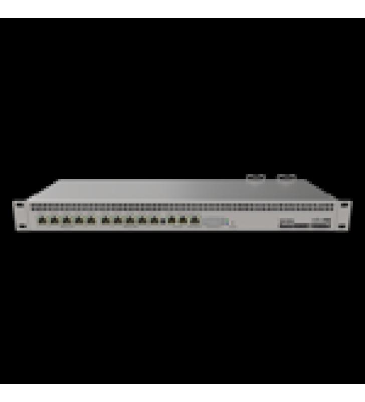 RB1100AHX4 DUDE EDITION, 13 PUERTOS GIGABIT, ALMACENAMIENTO M.2 60GB PARA BASE DE DATOS DUDE