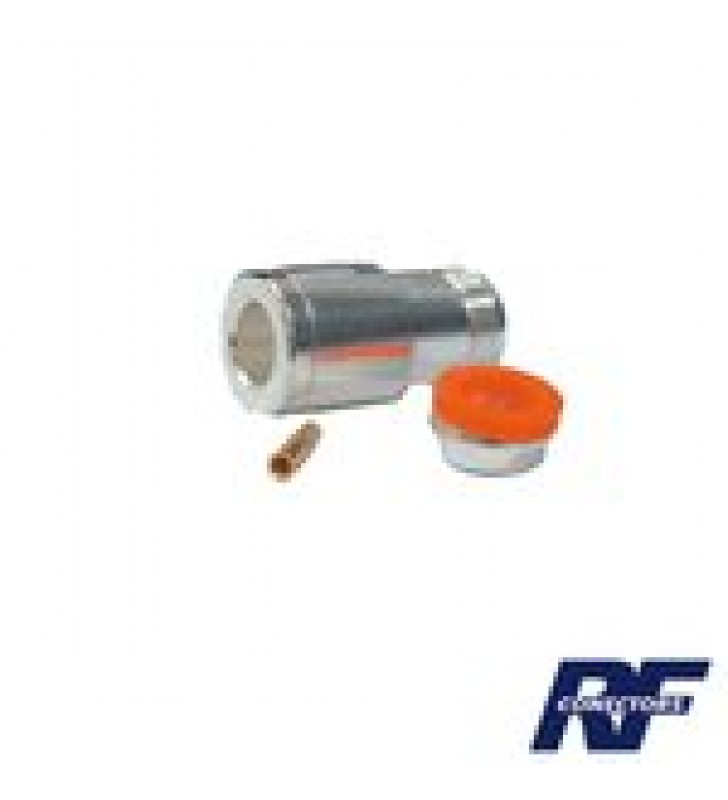 CONECTOR N HEMBRA PARA CABLE BELDEN 9913, 7810A, 8214; ANDREW CNT-400; SYSCOM RG8/U-SYS, RFLASH-1113