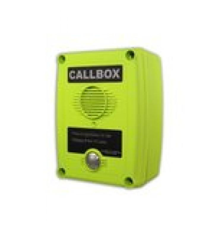 CALLBOX, INTERCOMUNICADOR INALAMBRICO VIA RADIO UHF 450-470MHZ, SERIE Q1 EN COLOR VERDE