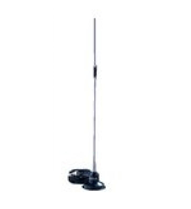 ANTENA MOVIL VHF CON MONTAJE MAGNETICO Y CONECTOR BNC MACHO, 148-174 MHZ