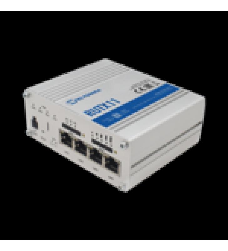 ROUTER LTE CAT6 PROFESIONAL, 4 PUERTOS GIGABIT, DOBLE SIM, USB, WIFI 802.11AC, GNSS