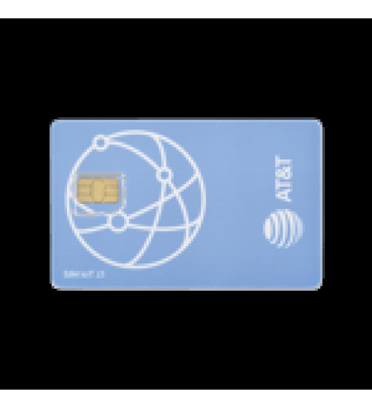 SIM AT&T IOT PARA RADIO, COBERTURA MEXICO/USA/CANADA, 1GB MENSUAL, SERVICIO POR 1 ANO, ACTIVACION AUTOMATICA (SIN HUMANOS)