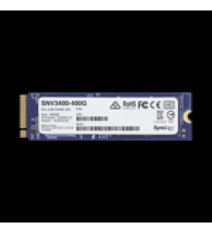 SSD 400GB NVME M.2 2280, DISENADA PARA SYNOLOGY NAS CON RANURAS M.2 INTEGRADAS