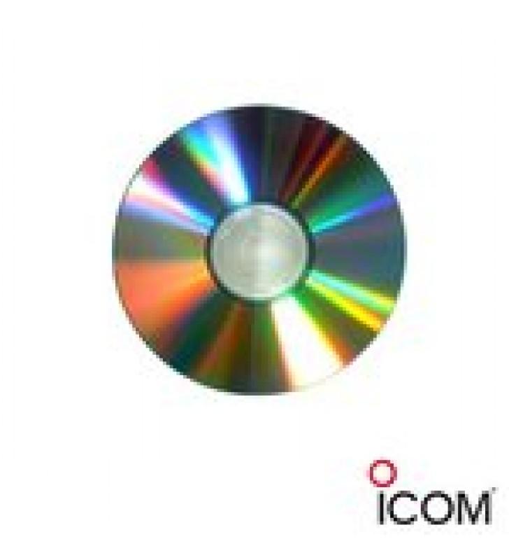SOFTWARE PARA CLONAR RADIOS MOVILES ICOM IC-F121S / 221S / M. INCLUYE SOFTWARE DE AJUSTE (CS-F00SADJ).