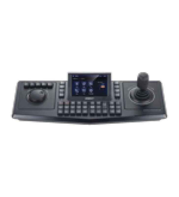 CONTROLADOR DE DOMOS PTZ Y CAMARAS IP WISENET, CON PANTALLA LCD TOUCH SCREEN DE 5