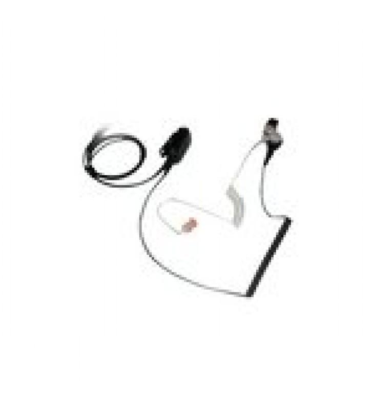 MICROFONO DE SOLAPA CON AUDIFONO DISCRETO P/ MOTOROLA EX-500 / 600 / PRO5150 ELITE / GL2000 / GP328PLUS / GP338PLUS.