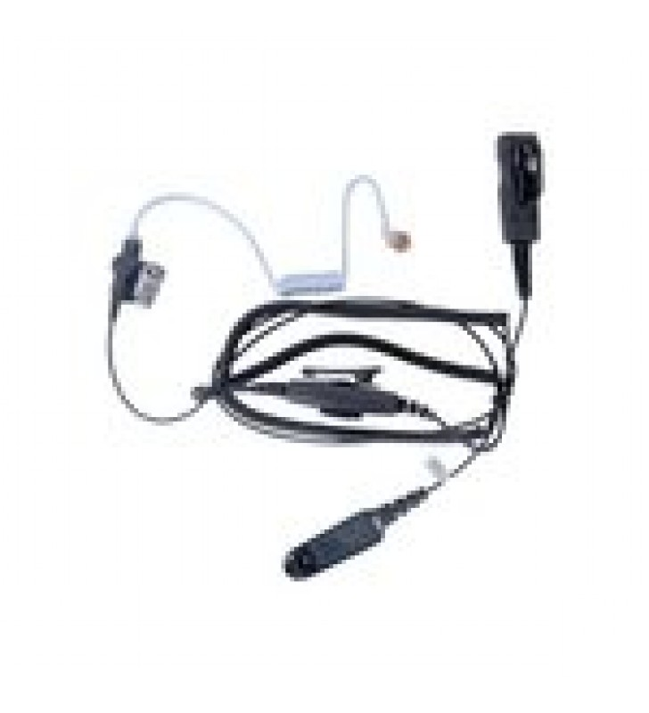 MICROFONO AUDIFONO DE 2 CABLES CON DOBLE PTT P/ MOTOROLA HT-750/ 1250/ 1550/ PRO-5150/ 5550/ 7150/ 9150/ MTX-850LS/ PTX700/ 760/ 780.