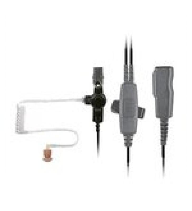MICROFONO AUDIFONO DE 2 CABLES CON DOBLE PTT P/ HYTERA PD-702/ PD-706/ PD782/ PD-785/ PD-786/ PT-580