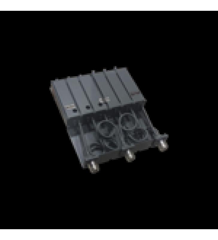 DUPLEXER MOVIL, 6 CAVIDADES, 136-148 MHZ, 50 WATT, CONECTORES N HEMBRA.