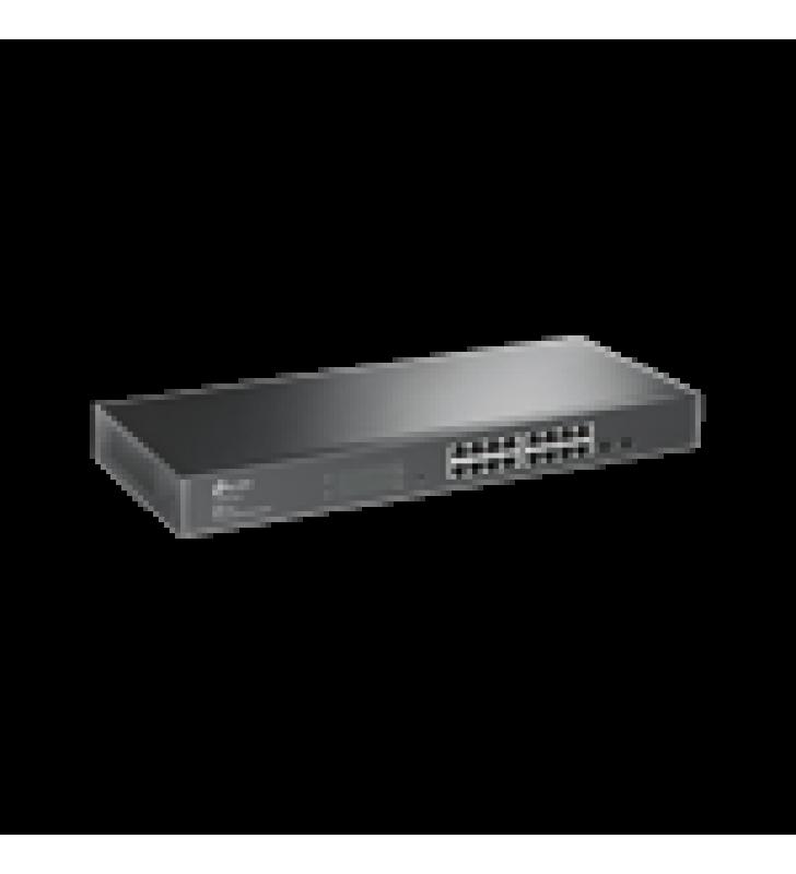 SMART SWITCH ADMINISTRABLE CAPA 2, 16 PUERTOS 10/100/1000 MBPS + 2 PUERTOS SFP