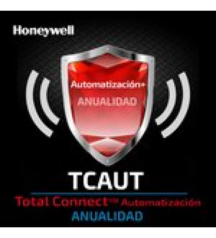 SERVICIO ANUAL PARA AUTOMATIZACION DESDE APP TOTAL CONNECT DE HONEYWELL
