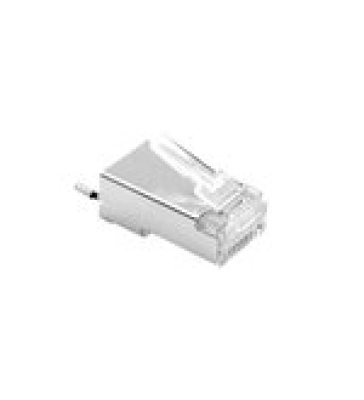 CONECTOR RJ45 PARA CABLE FTP/STP CATEGORIA 5E - BLINDADO