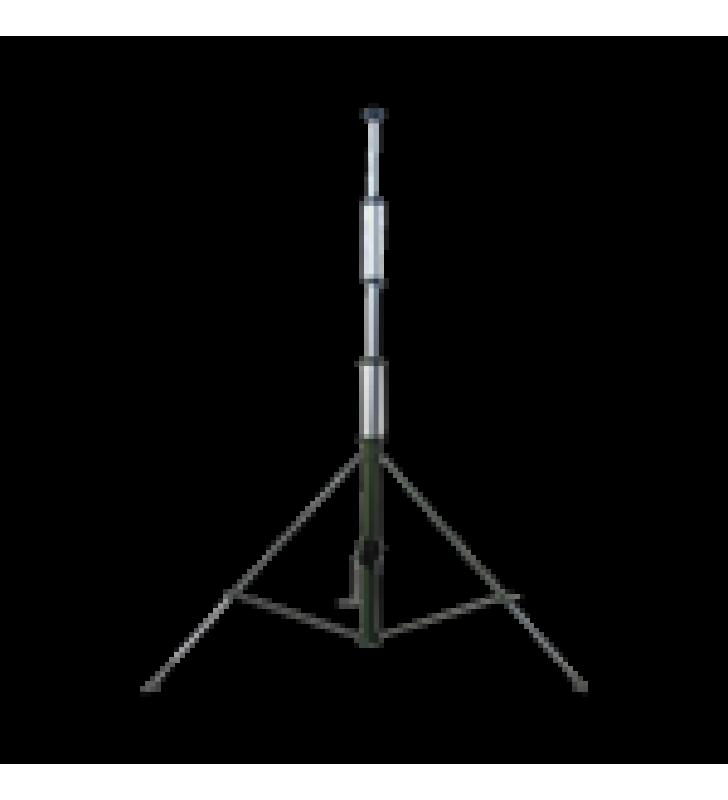 MASTIL TELESCOPICO RETRAIBLE MANUAL DE 9 METROS CON ACCESORIOS. INCLUYE TRIPIE.