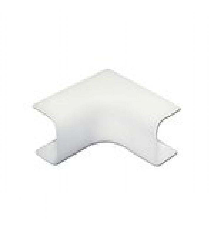 ESQUINERO INTERIOR DE PVC AUTO EXTINGUIBLE,  PARA CANALETA TMK0812 (3 PIEZAS) (5020-02001)