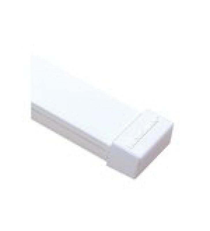 TAPA FINAL COLOR BLANCO DE PVC AUTO EXTINGUIBLE,  PARA CANALETA TMK1735, TMK1735SD (5390-02001)