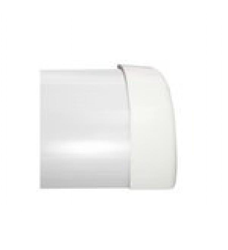 TAPA FINAL DE PVC AUTO EXTINGUIBLE COLOR BLANCA,  PARA CANALETA DMC4FT (9490-02001