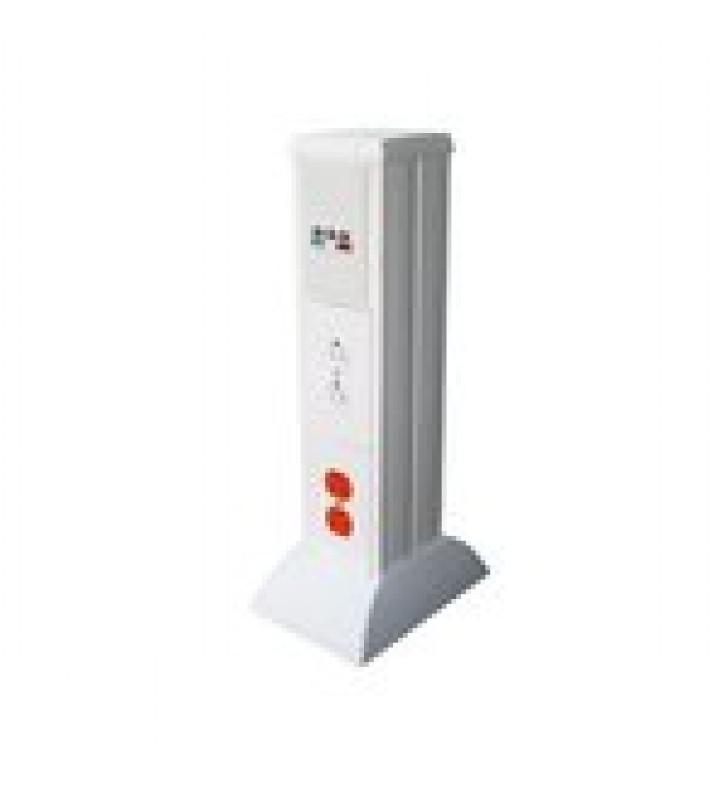 MINI COLUMNA PARA CONCENTRAR, DISTRIBUIR Y ORDENAR CABLES DE ENERGIA ELECTRICA O PUERTOS DE DATOS DE TELECOMUNICACIONES (10000-01000)