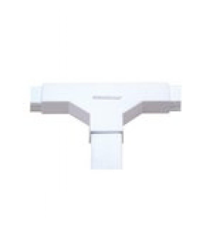 SECCION EN T COLOR BLANCO DE PVC AUTO EXTINGUIBLE, PARA CANALETAS TMK1735, TMK1735SD (5340-02001)