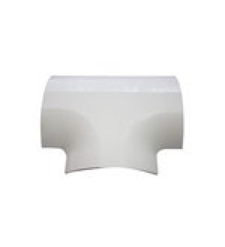 SECCION EN T COLOR BLANCO DE PVC AUTO EXTINGUIBLE PARA CANALETA DMC4FT (9440-02001)