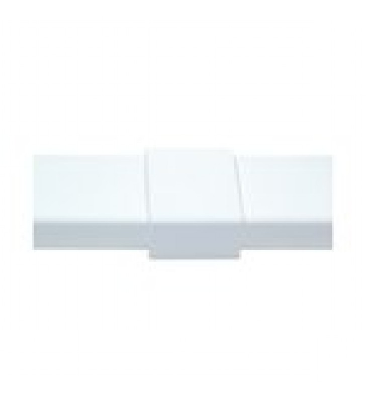 PIEZA DE UNION COLOR BLANCO DE PVC AUTO EXTINGUIBLE, PARA CANALETA PT48 (6180-01002)